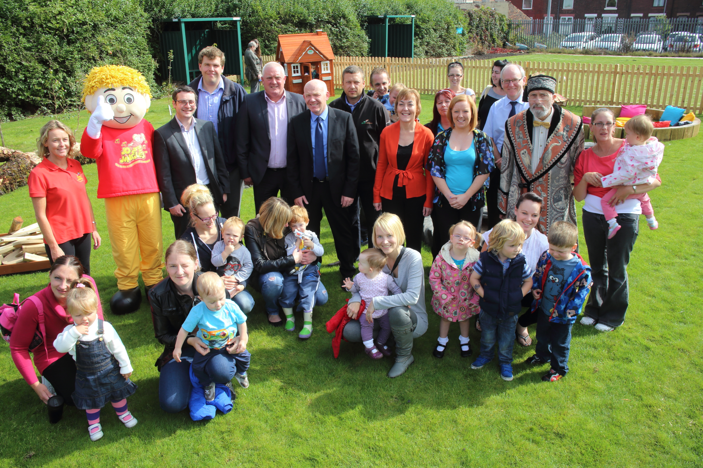 Play area dream made a reality for Wigan children's centre