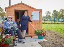 Winsford neuromuscular charity supported by housebuilder's scheme