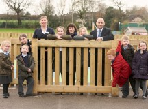 As part of the Our Space Your Place scheme David Wilson Homes have helped St Chad's Primary School to transform their playground.     1)      Provided top soil for an allotment   2)      Given them £1,000 cheque for fencing works   Pictured with pupils from St Chad's Primary School, Winsford:  (black suit) Kristianne Edmondson Sales Advisor charlotte place winsford  (suit and tie) Andrew Taylor Planning Director  (blue coat) Louise Dodd School Business Manager  (red fleece) Natalie Tomlinson Head Teacher  (longer hair, blue coat) Rikki Lloyd Year 4 Teacher  & Sports Lead   Picture: Jason Lock  Further Info: Lauren Wynne-Williams  Account Manager  Office  Havas PR UK, 52 Princess Street, Manchester M1 6JX  Email  Lauren.Williams@havasww.com  Web  www.havaspr.co.uk  Tel  0161 234 9776  Mob 07841 279 846      Full credit always required as stated in T&C's. PR and Press Release distribution only, no further reproduction without prior permission.  Picture © Jason Lock Photography +44 (0) 7889 152747 +44 (0) 161 431 4012 info@jasonlock.co.uk www.jasonlock.co.uk