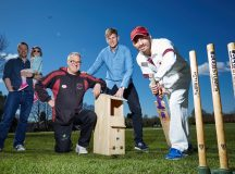 Our Space Your Place has donated bird boxes to give wildife a home at Whalley Range Cricket Club