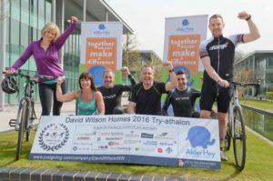 30 intrepid David Wilson Homes colleagues will take part in four sporting challenges for charity