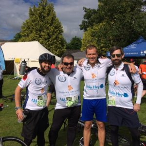 The DWH North West teamhas raised over £19k for charity