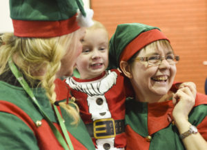 Festive fun provided for Northwich children's cancer charity