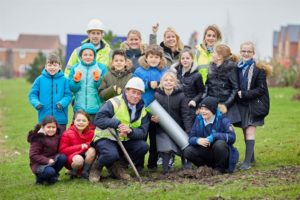 KEW WOODS PRIMARY SCHOOL PUPILS GO BACK TO THE FUTURE