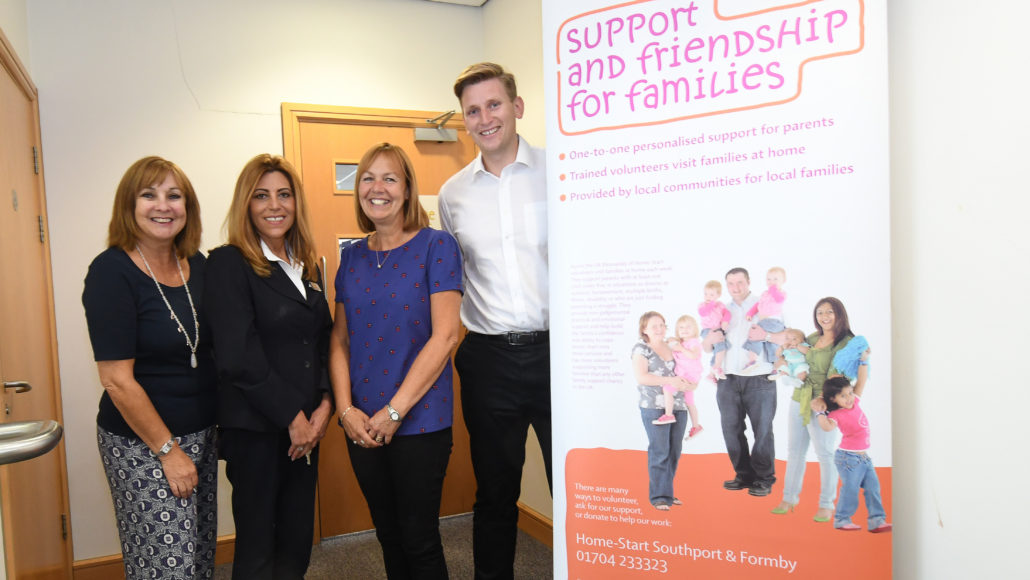 BARRATT AND DAVID WILSON HOMES NORTH WEST SUPPORT LOCAL FAMILIES IN SOUTHPORT