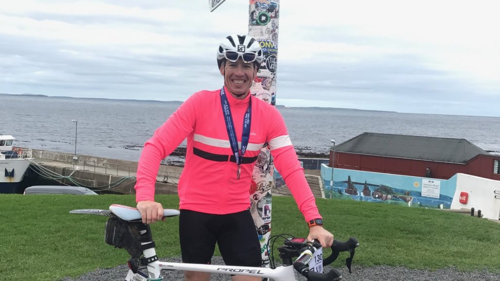 DEVELOPMENT DIRECTOR SADDLES UP FOR CROSS COUNTRY CHALLENGE