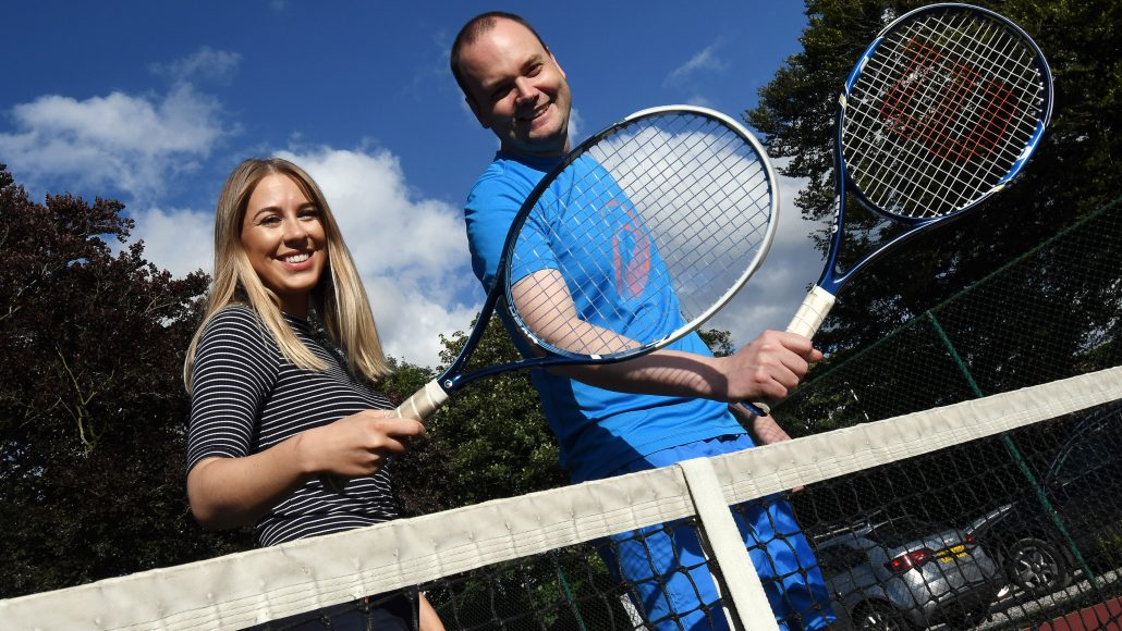 DAVID WILSON HOMES SERVES UP SPONSORSHIP TO WHALLEY TENNIS CLUB