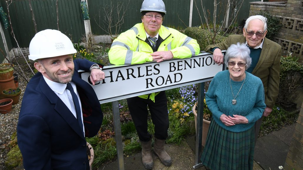 ROAD NAMED AFTER ALSAGER FAMILY