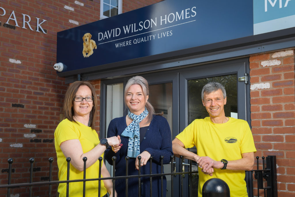 David Wilson Homes digs deep for local Half Marathon