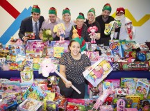 Dhw David Wilson Homes Warrington office have been collecting toys for Christmas donations, Jacquelyn Colquhoun (pictured) and her team will donate over 300 toys