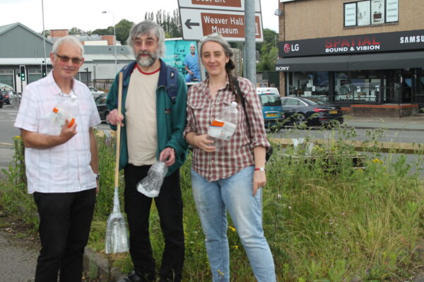 Northwich artists keep community spaces clean with donation